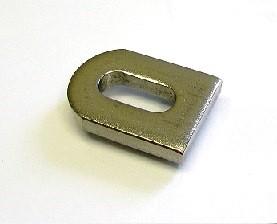 25000 - Edelstahl-Lasche 30x20x5 mm mit Langloch