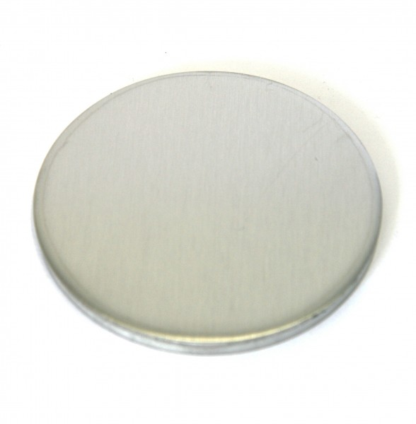 Edelstahl Ronde 90 x 6 mm 1.4301 K240