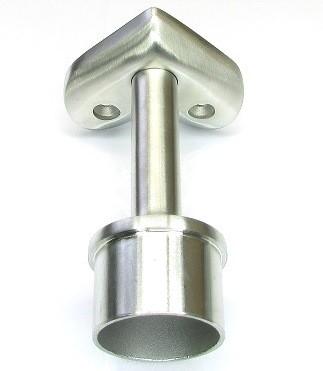 Handlaufträgerstütze, 90° starr, für Rohr Ø 42,4 mm