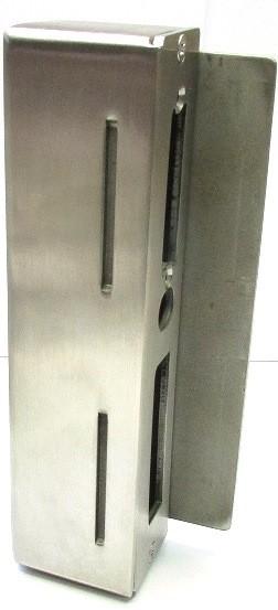 Stahl-Gegenkasten 172 x 44 x 40 mm, rechts und links verwendbar