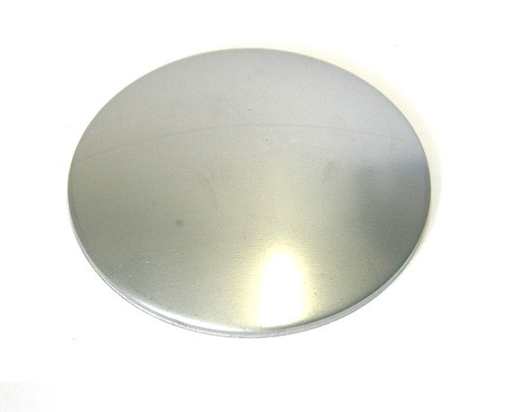 Edelstahl-Schale Ø 120 x 2,5 mm (ungeschliffen)