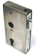 Stahl-Kastenschloss 172 x 60 x 30 mm, Dornmaß 40 mm