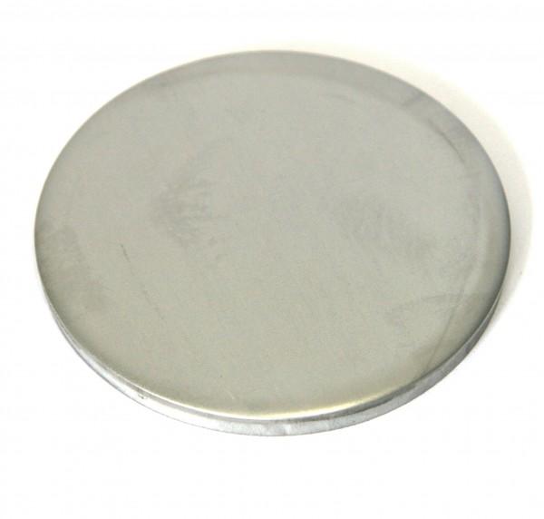 Edelstahl-Ronde, ungeschliffen, 27 x 2 mm
