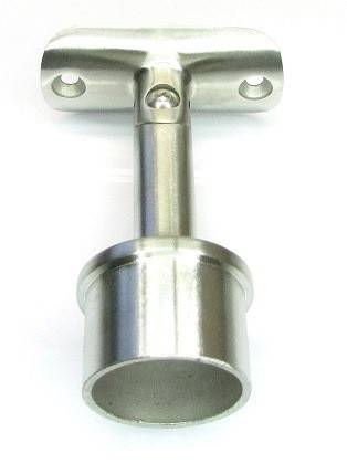 Handlaufträgerstütze, mit Gelenk, für Rohr Ø 42,4 mm