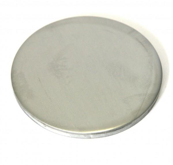 Edelstahl-Ronde, ungeschliffen, 80 x 6 mm